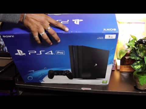 watch Sony Ps4 Pro Unboxing India In Hindi video