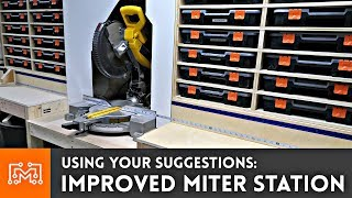 Using Your Suggestions to Improve the Miter Saw Station