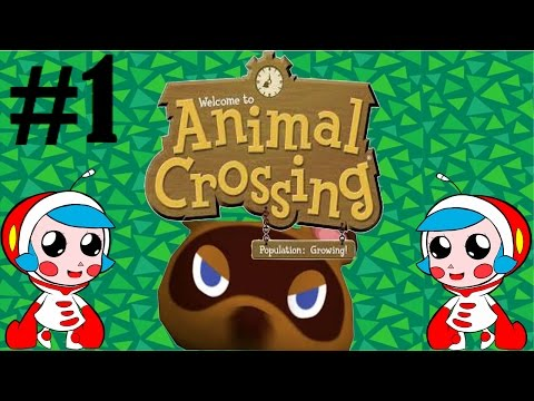 Animal Crossing Gamecube part 1 Silent Playthrough (No Commentary)