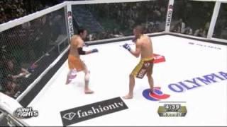 Kazushi Sakuraba vs Zelg Galesic - DREAM 12 - With Entrances!