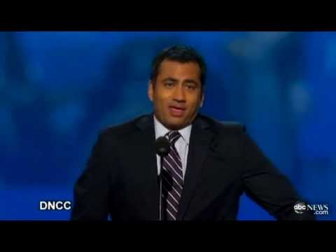 Kal Penn #sexyface Hashtag Takes Off on Twitter, Thanks  Invisible Man in the Chair  at DNC 2012