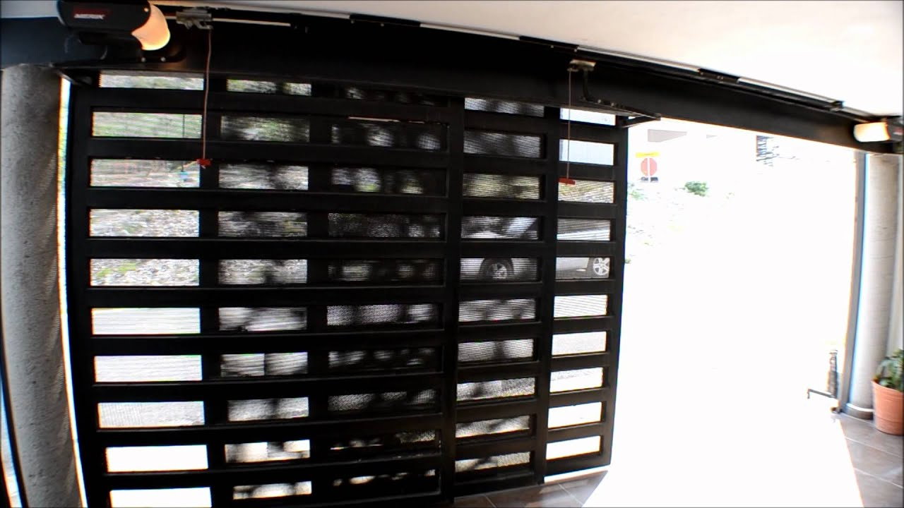Puertas automaticas porton corredizo con operador merik - Puertas de cochera ...