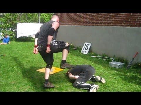 swede savard c vs xacutor chw championship backyard wrestling