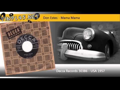 Don Estes - Fraulein / Mama Mama