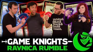 Ravnica Rumble w/ Rachel Agnes & Kenji Egashira l Game Knights #25 l Magic the Gathering Commander