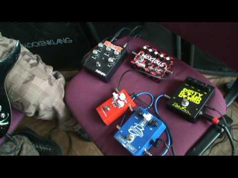 High gain Distortions. Full version. Krank vs Plush vs MI Audio vs Barber. EMG pickups. V.Vopilov