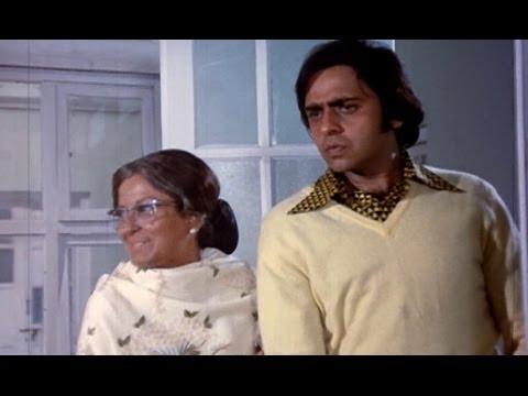 Moushumi Chatterjee Gets Notorious With Keshto Mukherjee - Zindagi