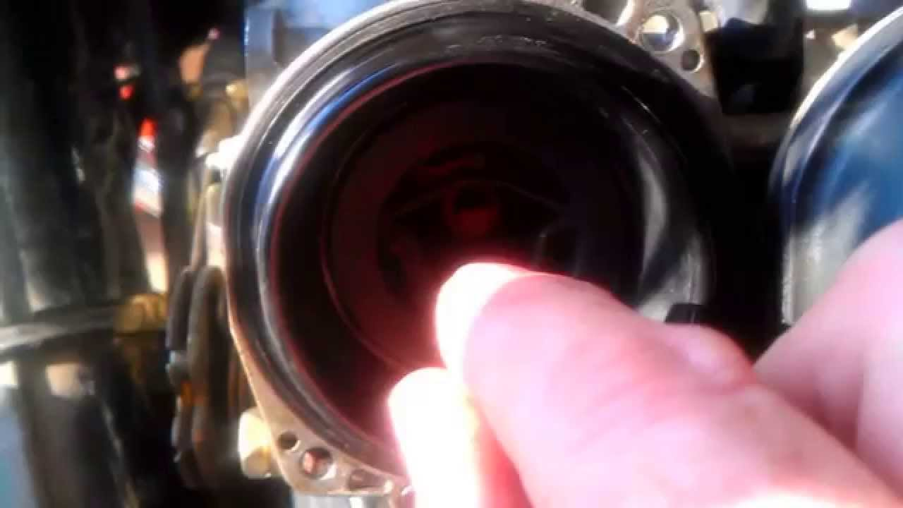 shimming the needle jet of cv carburetor suzuki intruder