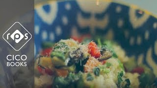 Oven-roasted Mediterranean Vegetable Risotto Recipe