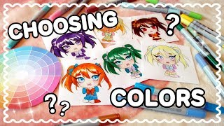☆ HOW-TO || Choosing Colors (4 Easy Tips!) ☆