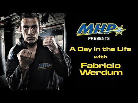 Fabricio Werdum: A Day in the Life of an MMA Fighter Image 1