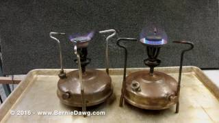 How to Operate a Vintage Kerosene Stove