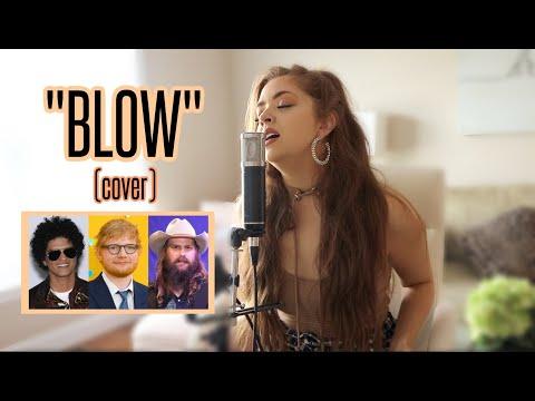 Download Lagu  Ed Sheeran, Bruno Mars, Chris Stapleton - Blow Olivia King Cover Mp3 Free