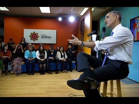 The President Holds an Immigration Town Hall in Nashville