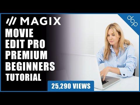 Magix Movie Edit Pro 2019 Beginners Tutorial - Example 1 - [ Edit video using Movie Edit Pro 2019 ]