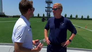 Indy 500 winner Will Power meets the Dallas Cowboys