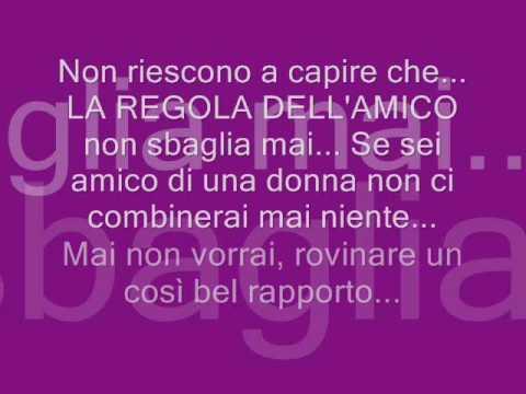 883 - La Regola Dell Amico