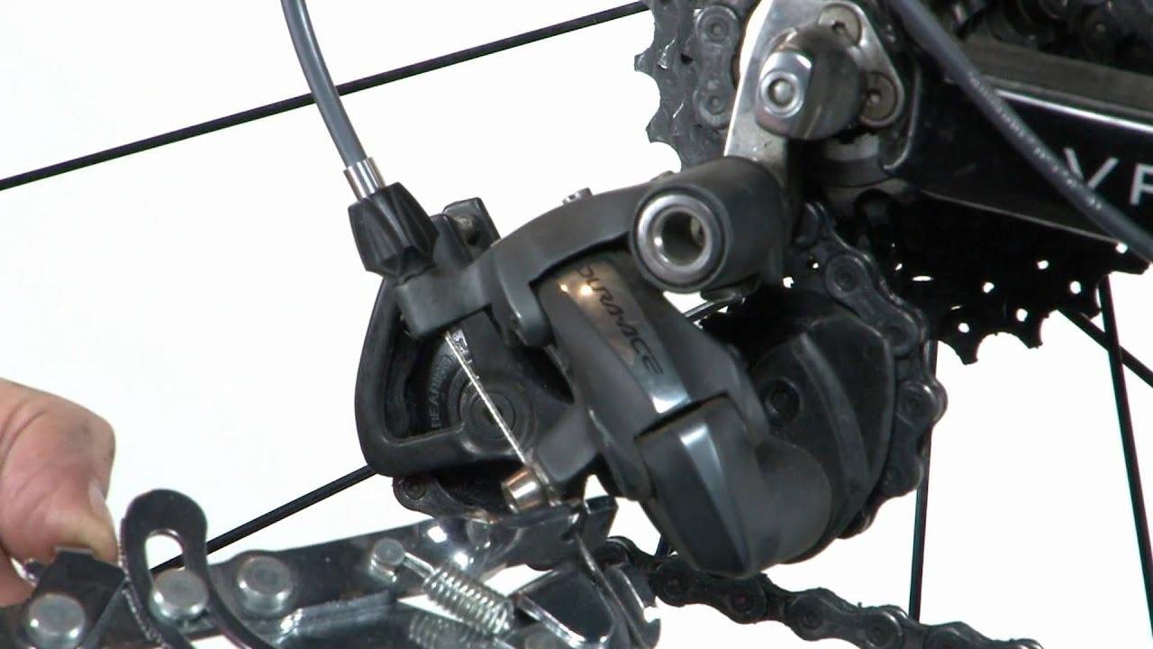 shimano deore rear derailleur manual