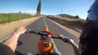 Yamaha DT100 cc  BY BARacing vs DT,s Team Vale parra
