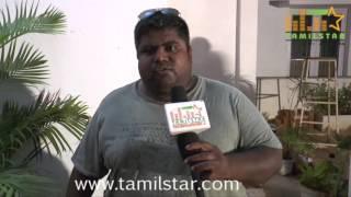 Gopi Amarnath At Maayavan Movie Shooting Spot