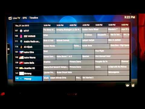 Astro B.yond HD on XBMC