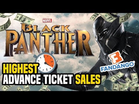 Black Panther Has The HIGHEST Advance Ticket Sales In 24 Hours Of Any MCU Movie On Fandango!!!