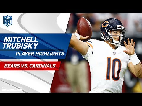 Every Mitchell Trubisky P Vs Arizona Bears Vs Cardinals Preseason