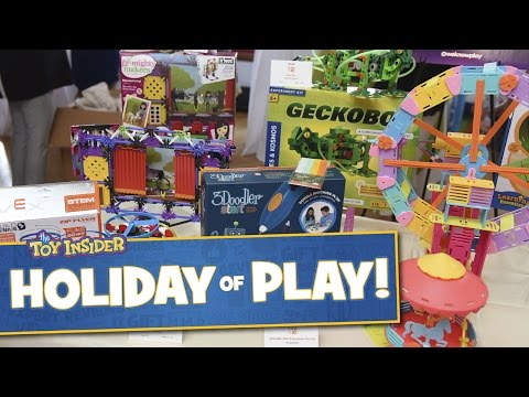 The Toy Insider's Holiday of Play & Holiday Gift Guide feat. the HOTTEST TOYS for all TOY FREAKS!