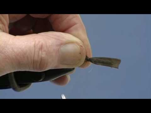 Learn Fly Tying Lesson 16 For Beginners The Dark Stone Fly with David Cammiss