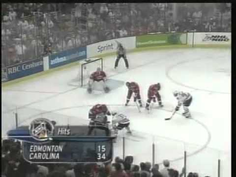 Hurricanes - Oilers 2006 Stanley Cup Finals Game 7 Highlights (6/19/06)