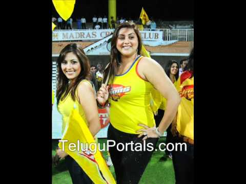 Http:  teluguportals - Namitha Stills At Ccl Match video