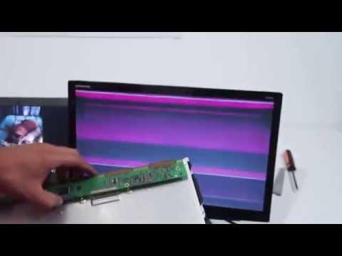 Tutorial como saber cuando las pantallas estan malas LCD y LED