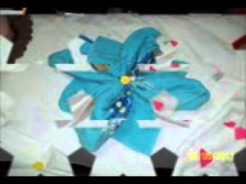 dobradura de toalhas