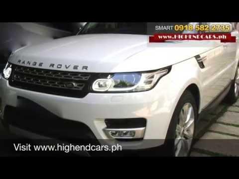 2014 RANGE ROVER SPORT HSE V6 DIESEL PHILIPPINES WWW.HIGHENDCARS.PH