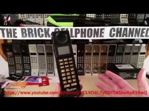 British Telecom BT Ivory Brick Phone From Late 1980's
