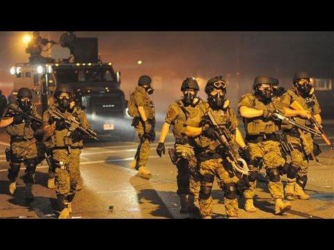 In Ferguson, Violence Flares Again