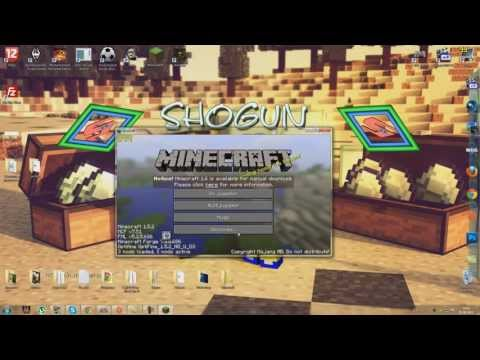Minecraft: Como Instalar y descargar GLSL Shaders Mod 1.5.2
