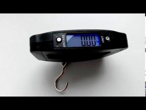 весы kosadaka электронные до 50кг