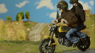 Ducati Scrambler Animation Movie Short Film