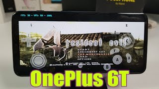 OnePlus 6T Resident Evil 4 Gameplay/Dolphin emulator/Full Speed