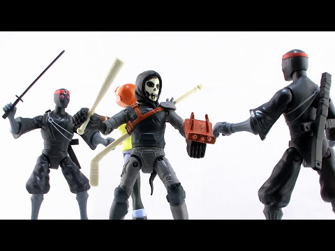 Nickelodeon Teenage Mutant Ninja Turtles Casey Jones Figure Video Review