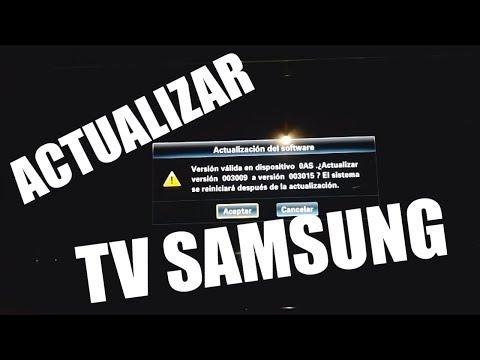 Actualizar Firmware TV Samsung (LE40C650)