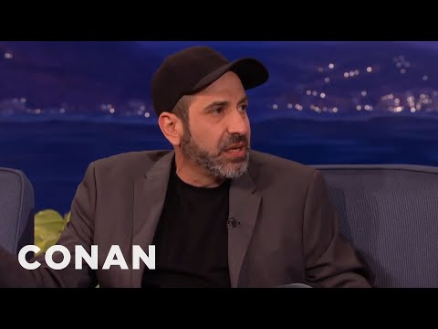 Dave Attell Interview Part 1 04/30/15  - CONAN on TBS