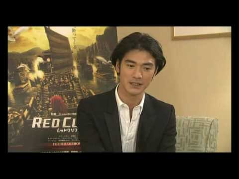 Red Cliff Takeshi Kaneshiro Japanese Interview 1