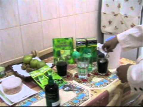 Edmark Splina Liquid Chlorophyll drink preparation by SCM Boyet C. dela Cruz