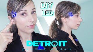 DIY ASMR . Luz LED . Detroit  Become Human . TUTORIAL . Como se hace . Fácil . SusurrosdelSurr