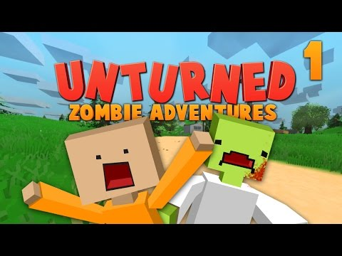 RUN AWAY, RUN AWAY! ★ Unturned: Zombie Adventures (1)