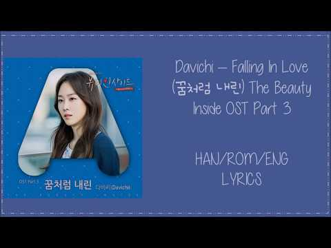 Davichi – Falling In Love (꿈처럼 내린) The Beauty Inside OST Part 3 Lyrics