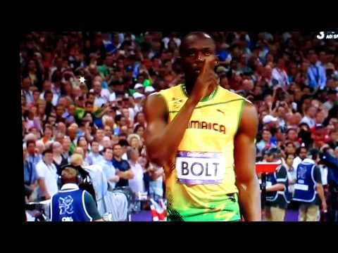 200 meter Sprint Final London Olympics 2012