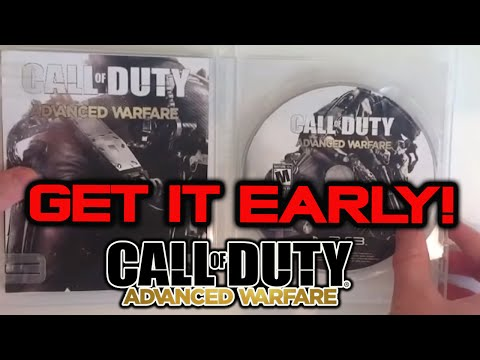 How To Get Call of Duty Advanced Warfare Early
